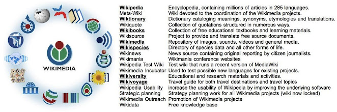 Photo: A series of other open community/open source projects you link up with via an XO-XServer deployment.  Of course you know the wikipedia, but the XO-XS opens-up / enourages teachers to collaborate in making the best ebooks, e.g. via the wikibooks open community initiative, and several more.  It's about learning, connecting, collaborating, discovering, meeting new people and practices.