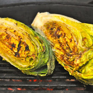 Grilled Romaine Lettuce.