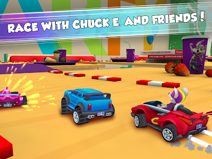 Chuck E. Cheese's Racing World 8