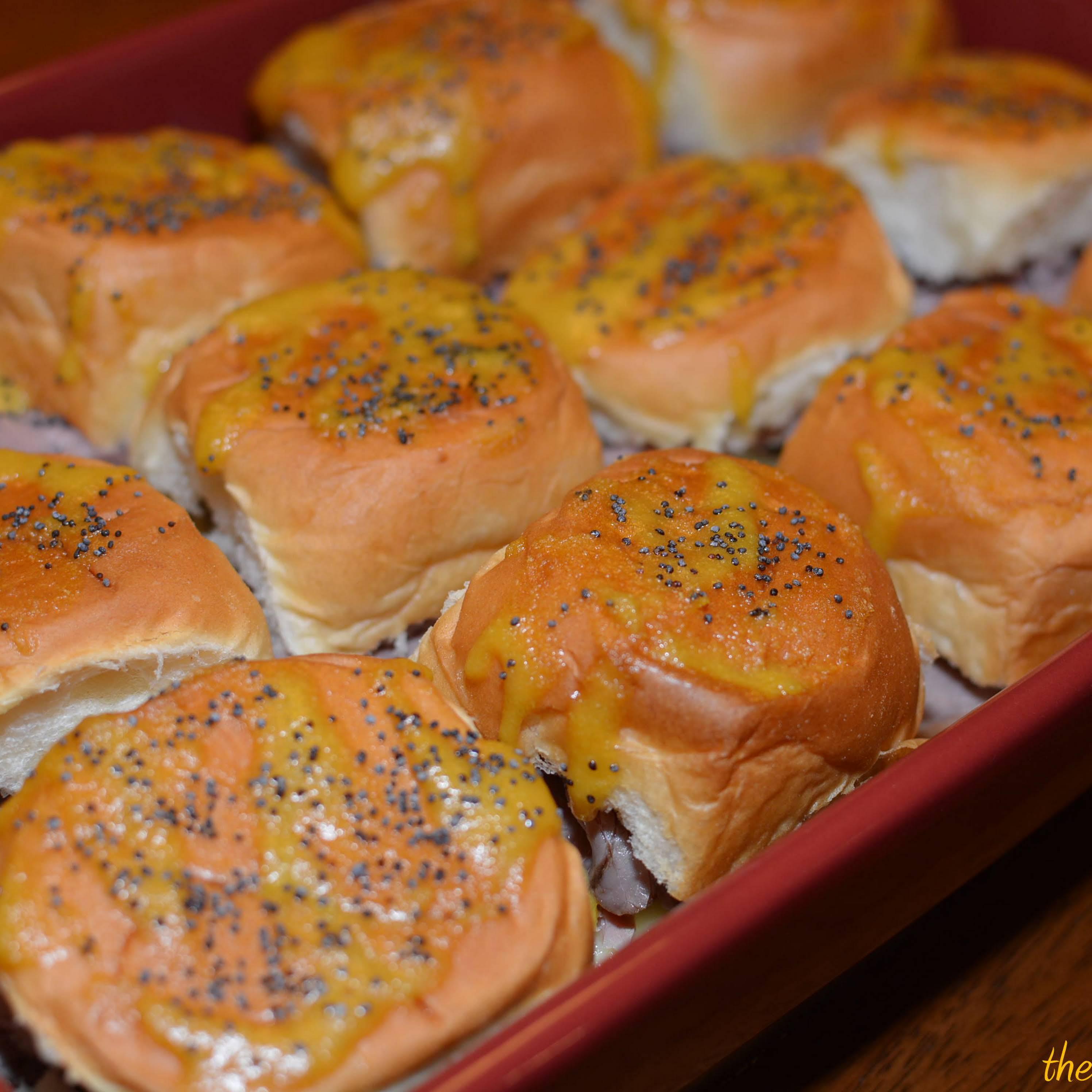 Roast Beef and Swiss Sliders