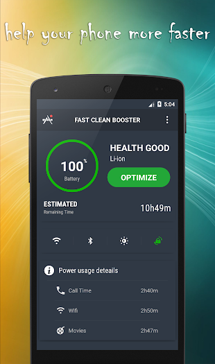 Fast Clean/Smart Booster- screenshot thumbnail