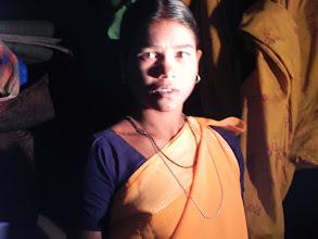 Photo: First beneficiary of light at Kapparamajji