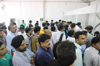 Photo: Registrations in full swing
