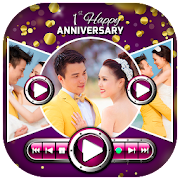 Anniversary Video Maker With Romantic Song