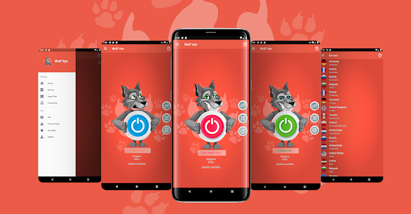 Wolf Vpn – Free Unlimited Vpn Proxy Service App Download For Android 1