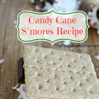 12 Days of Christmas Candy | Candy Cane S'mores