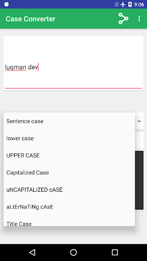 Screenshot 4 Case Converter