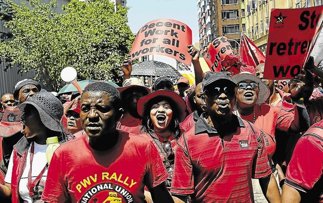 Cosatu intends to resist the ANC government's proposed changes to legislation affecting retirement savings. Picture: THE TIMES