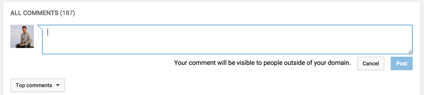Youtube Education Drawings Restrict Youtube Comments