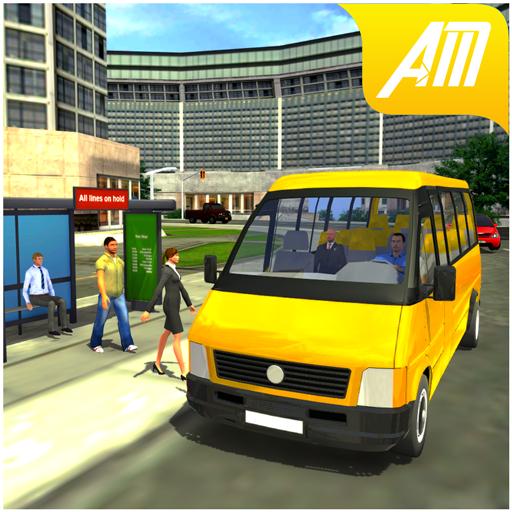 Real Minibus Drive Simulator