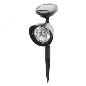 Reflector LED solar ABS, H 31.5 cm