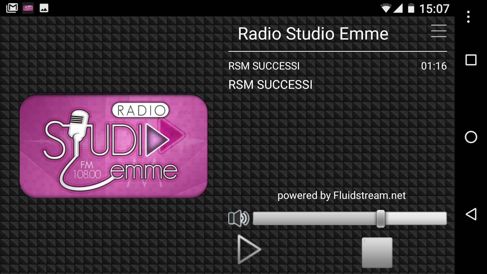 Radio Studio Emme- screenshot