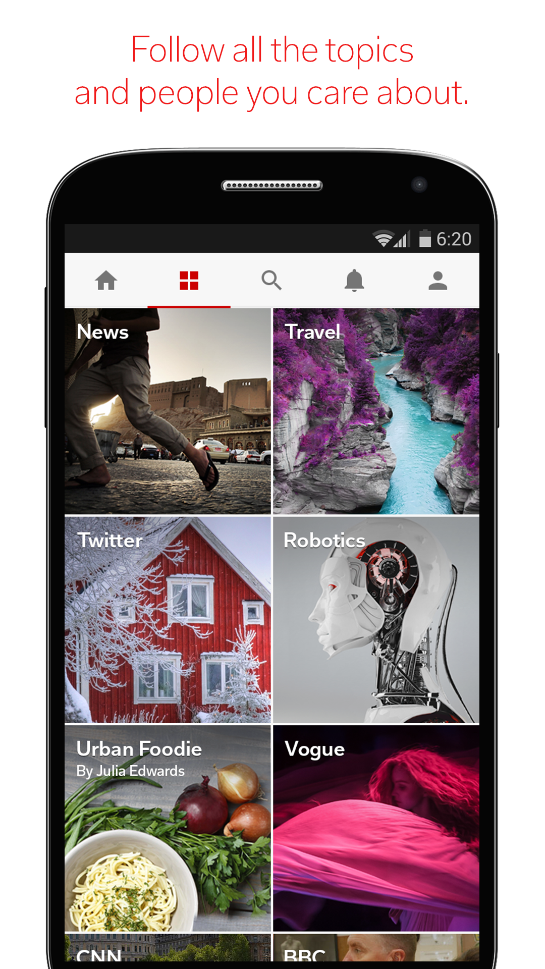 Flipboard: Your News Magazine screenshot #1
