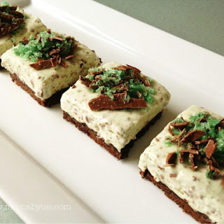 Easy After Dinner Mint Cheesecake
