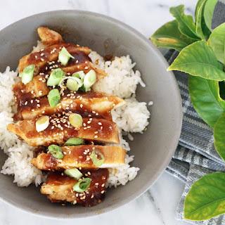 Easy Teriyaki Chicken.