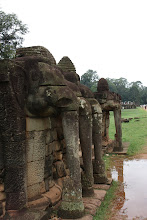 Photo: Year 2 Day 44 -  The Elephant Terrace of Angkor Thom #3