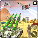 Military Missile Launcher:Sky Jet Warfare icon