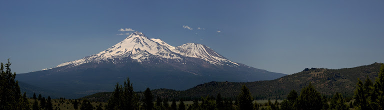 Photo: Mt Shasta close up.jpg