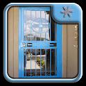Metal Security Door Design icon