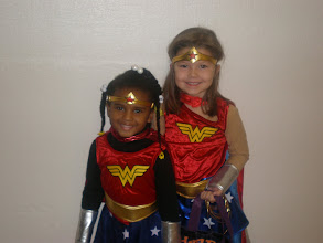 Photo: The other Wonder Woman there. Her name was Olivia. :-)
