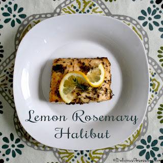 Lemon Rosemary Halibut Recipes