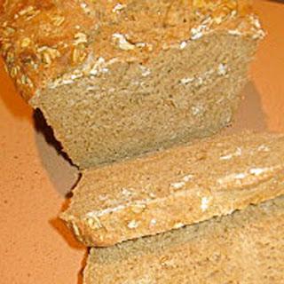 No-Knead Whole-Wheat Oatmeal Bread