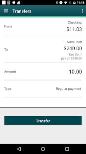 Firefly CU Mobile Banking- screenshot thumbnail