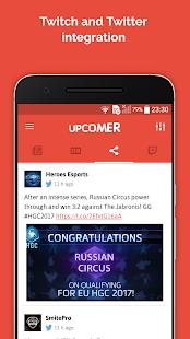 Upcomer eSports - náhled