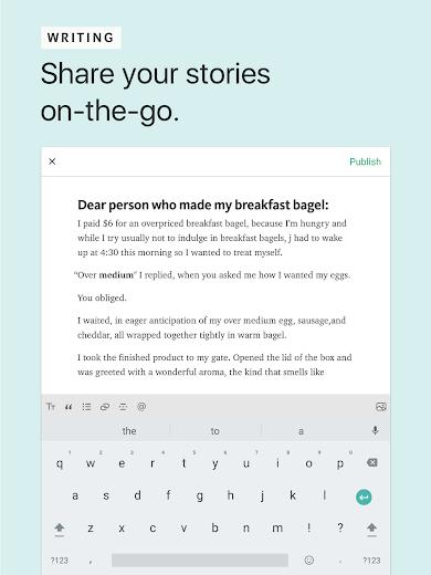 Screenshot 7 for Medium's Android app'