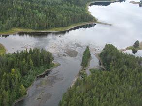 Photo: Edsforsen norra fårans utlopp