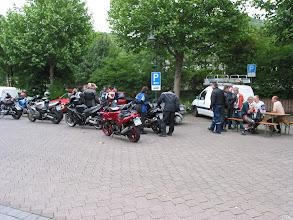 Photo: Treffpunkt in Braubach am 27.05.2007 um 8.00Uhr