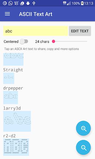 ASCII Text Art 1.0.3 screenshots 8