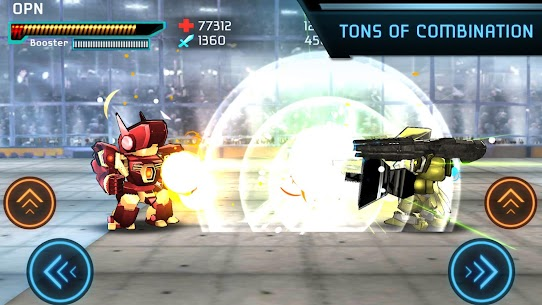 Megabot Battle Arena: Build Fighter Robot Apk Download For Android and Iphone 5