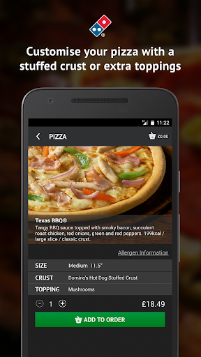 Domino's Pizza screenshot 4