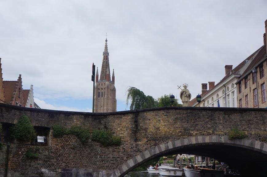 Boat cruise in Brugge, Belgium (2014)