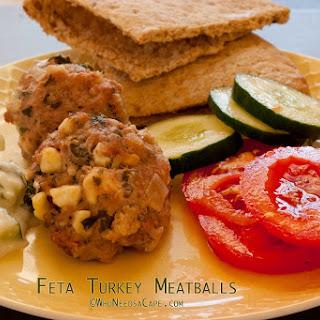 Feta Turkey Meatballs