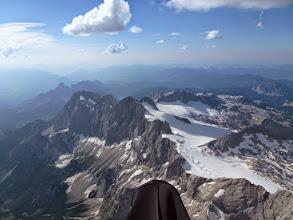 Photo: Anflug auf den Dachstein, jetzt kann ma des FAI keiner mehr nehmen!!!