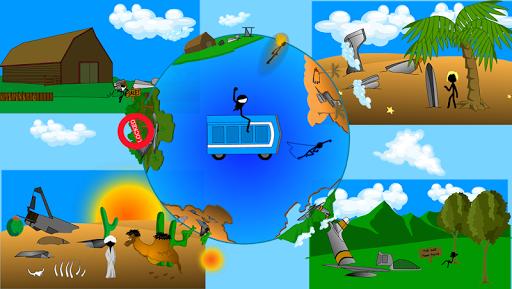 Potty Launch 2:Stickman Flying Simulator apktram screenshots 4