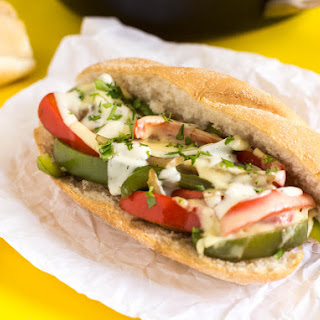 Veggie Cheesesteak Sandwiches