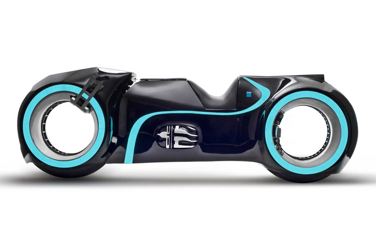 Tron Lightcycle Evolve Xenon 光輪機車 量產上市