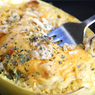 Spaghetti Squash French Onion Soup Casserole