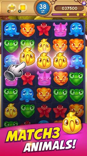 Animal Drop – Free Match 3 Puzzle Game 1.6.4 screenshots 1