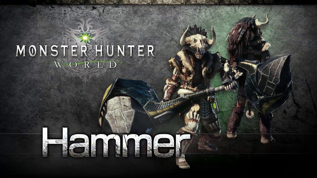 Monster Hunter World: Iceborne solo weapons hammer