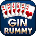 Gin Rummy - Best Free 2 Player Card Games icon