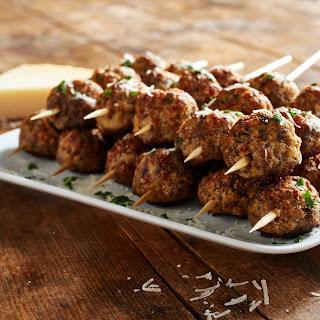 Baked Italian-Style Meatballs.