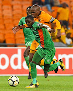 Lazarous Kambole played for Zesco against Chiefs in January.
