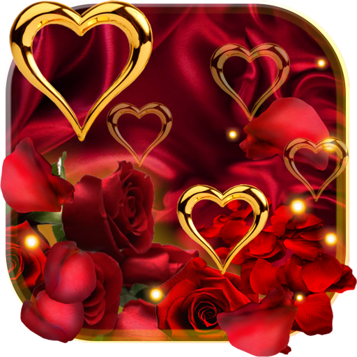 Rose Gold Hearts LWP file APK for Gaming PC/PS3/PS4 Smart TV