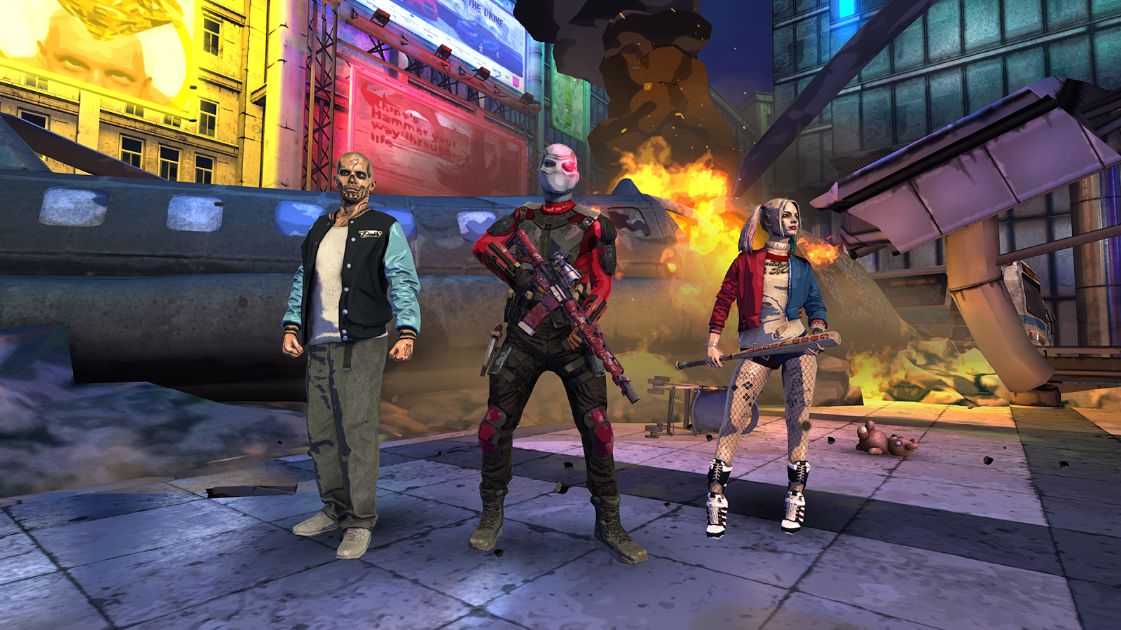 Suicide Squad: Special Ops– captură de ecran