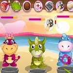 Baby Dino Love - Caring Game Icon