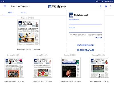 az Grenchner Tagblatt E-Paper screenshot 5